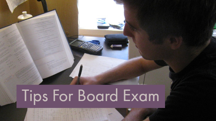students tips for board exam